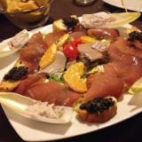 carne e pesce, gusti tipici, momento conviviale