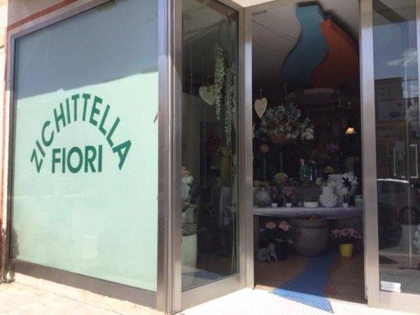 ingresso negozio di fiori