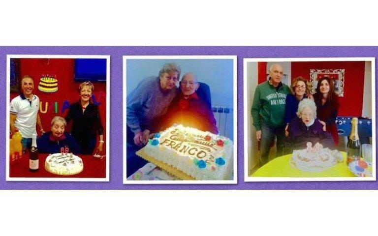 feste per anziani casa di riposo Villa Serena
