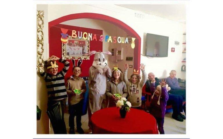 feste in maschera per anziani Villa Serena