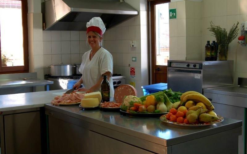 cucina Villa Serena Comano