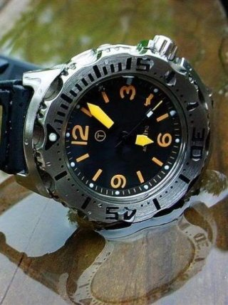 Military Diver Watch customized