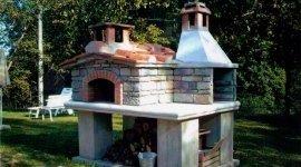 forni a legna in cemento per esterni