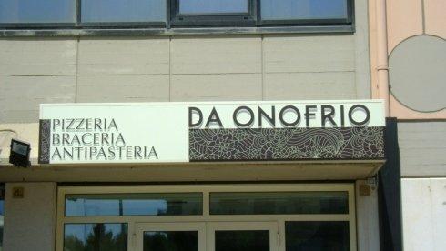 DA ONOFRIO - Pizzeria braceria antipasteria