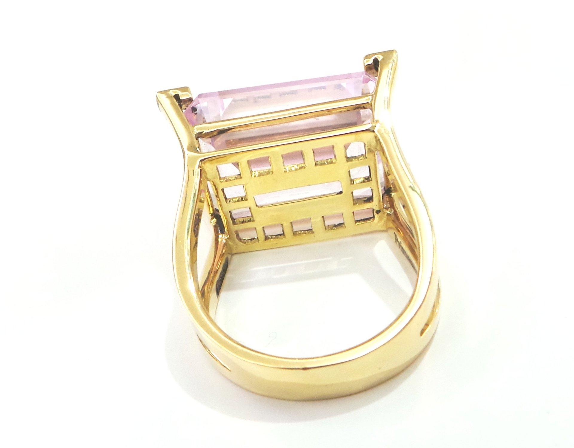 Cattelan - anello Oro Giallo 750 -  Rosa di Francia