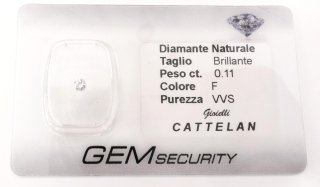 Diamante Naturale Certificato