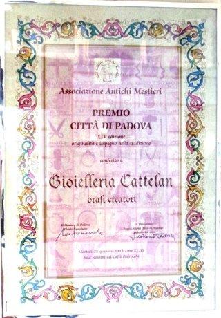 Diploma di merito - Associazione Antichi Mestieri di Padova
