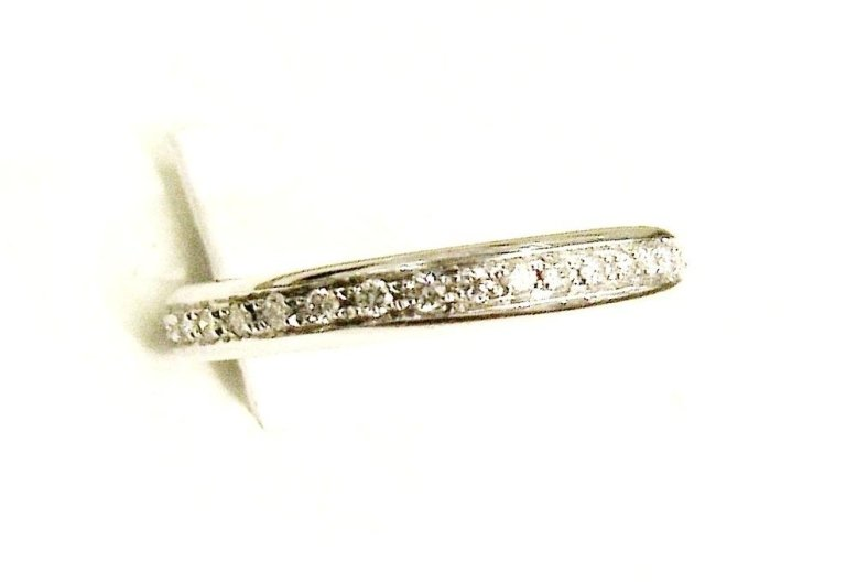 Cattelan - fedina eternity diamanti in oro bianco mod.10