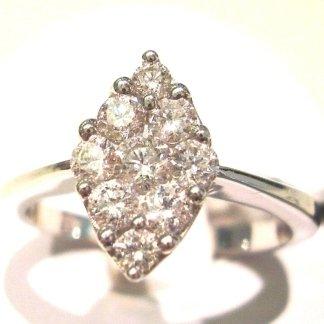 diamanti con carati, oreficeria con anelli