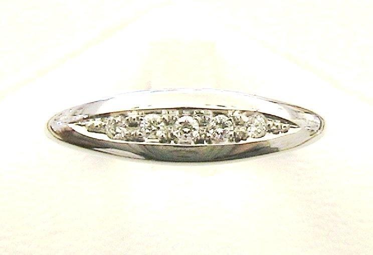 Cattelan - fedina diamanti in oro bianco