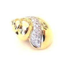 pendant, gold,jewels,diamonds,Cattelan,conchiglie,ciondolo,gioielli,gioielleria
