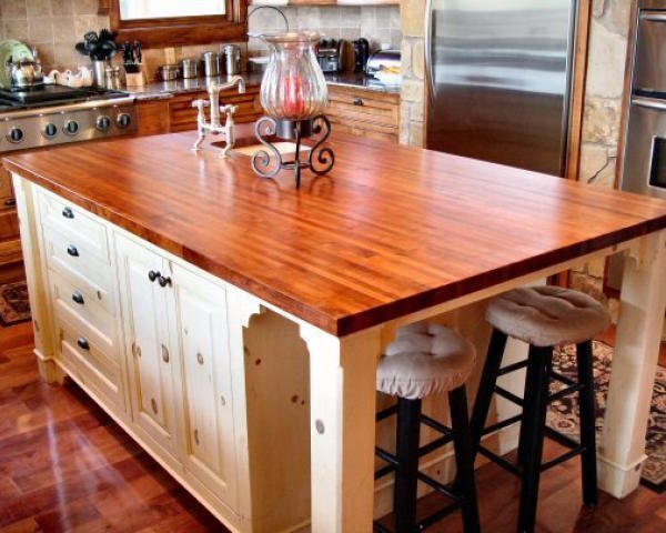 Many Popular Wooden Countertops Are Made From Bamboo, White Maple, Cherry,  And Black Walnut. Consider Using Reclaimed Or Recycled Wood Options For ...