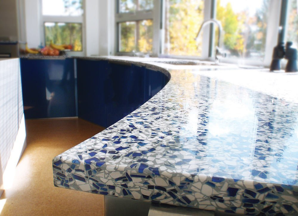 Recycled Glass Outdoor Countertops Countertops Of Memphis
