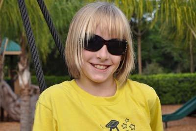 Girl in StarChild Academy's Summer Camp Program