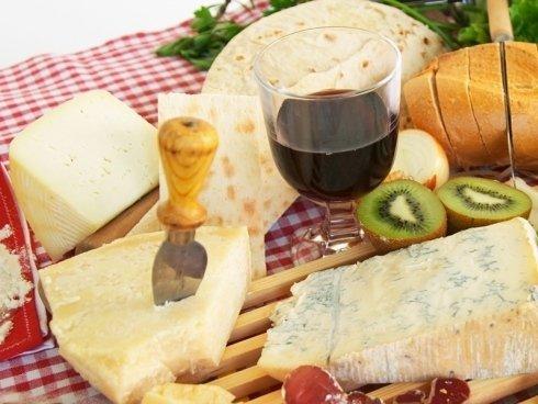 piadina con formaggi