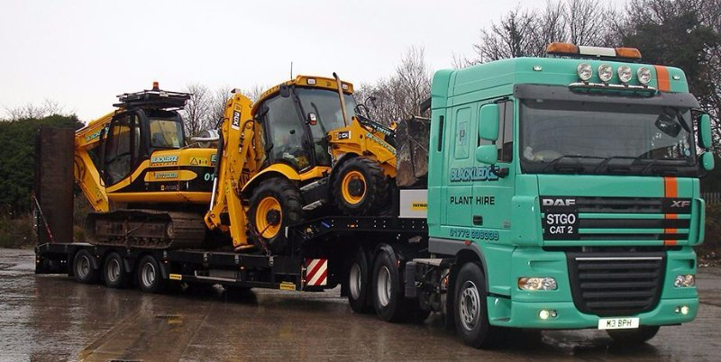 Plant machinery and tipper hire