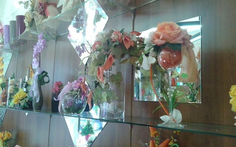 fiori in vetro