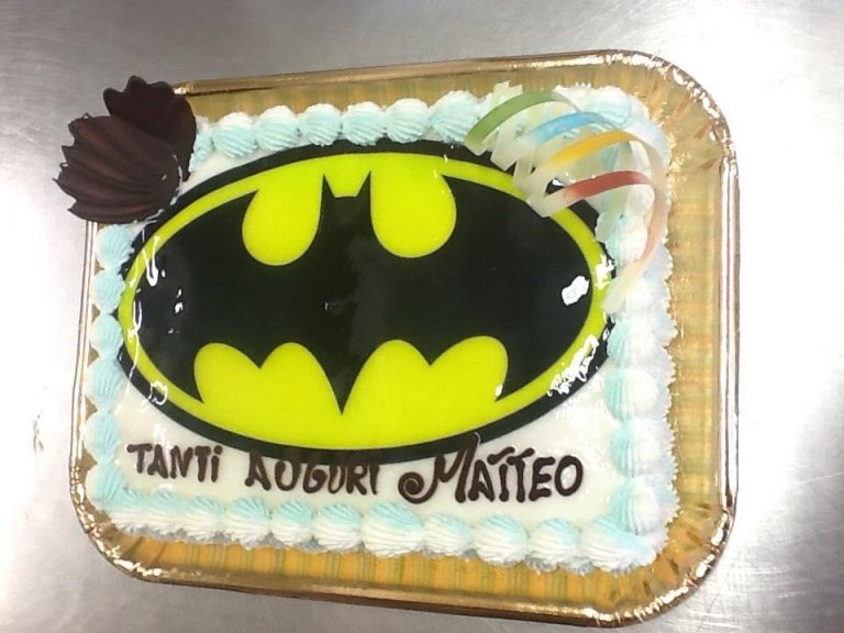 torta batman compleanno