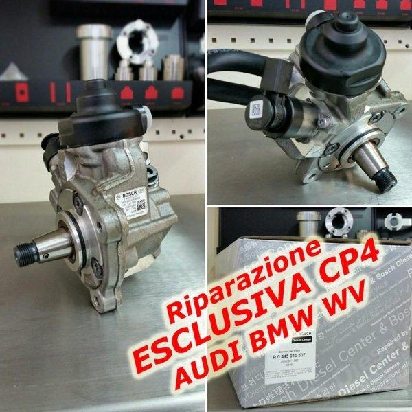 Riparazione esclusiva CP4  Bmw Audi e WV