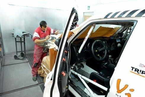 verniciatura professionale di auto