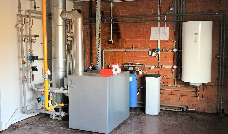 Impianto caldaia in una casa di Bologna