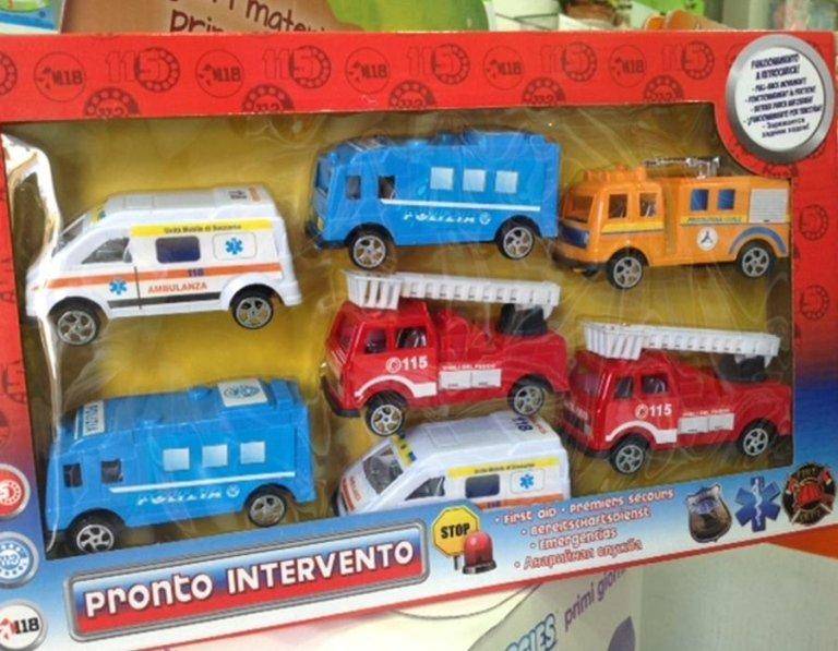camion emergenze giocattolo