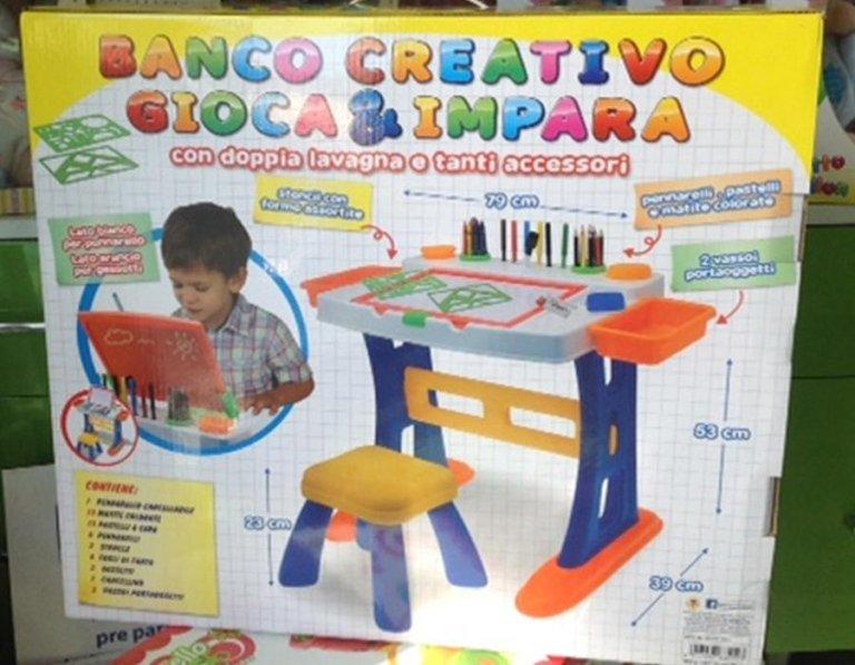 scrivania creativa