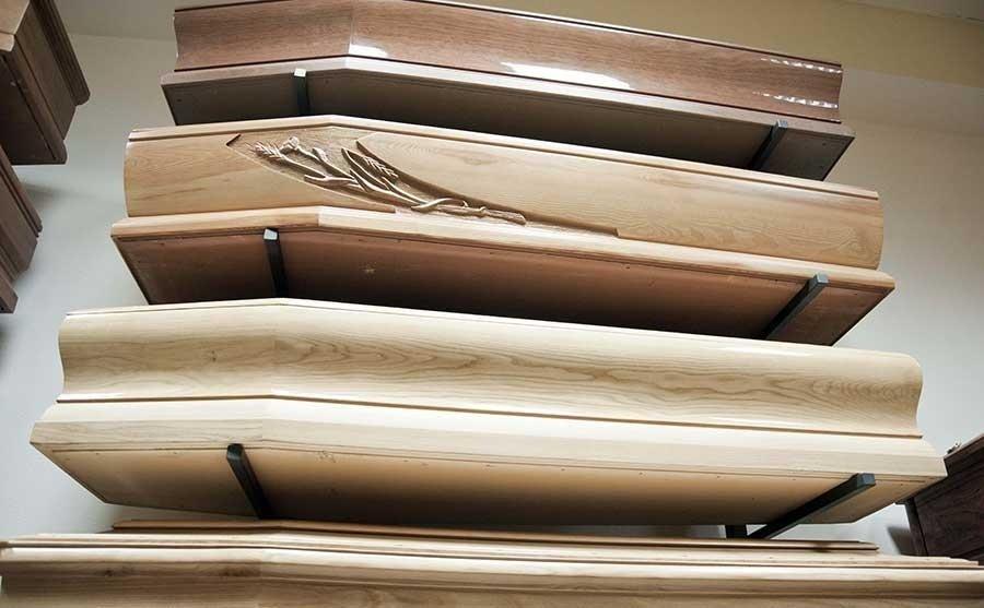 bare in varie tipologie di legno