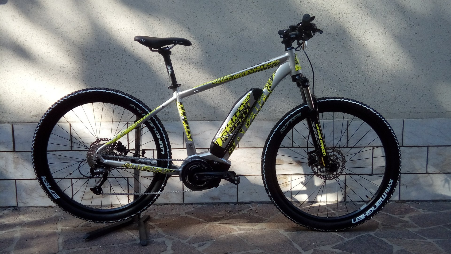 Mountain bike elettrica Yamaha