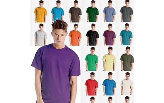Magliette di diverso colore