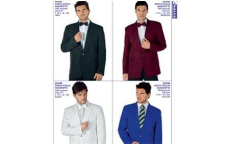 catalogo giacche maschili da receptionist