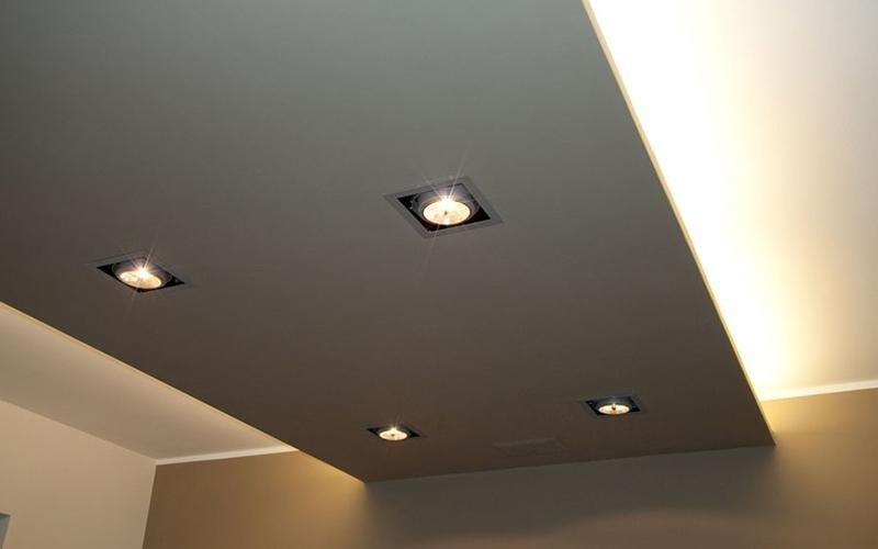 impianti di illuminazione a soffitto