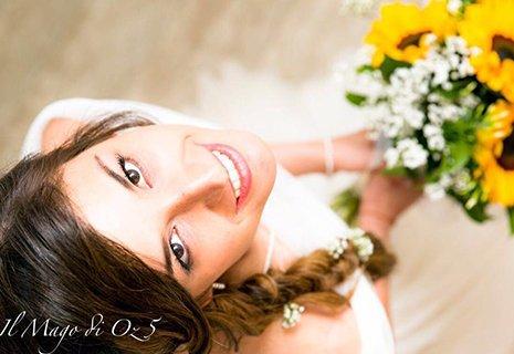 Sposa foto in alto