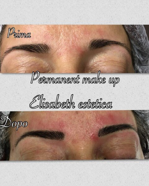permanent make up prima e dopo