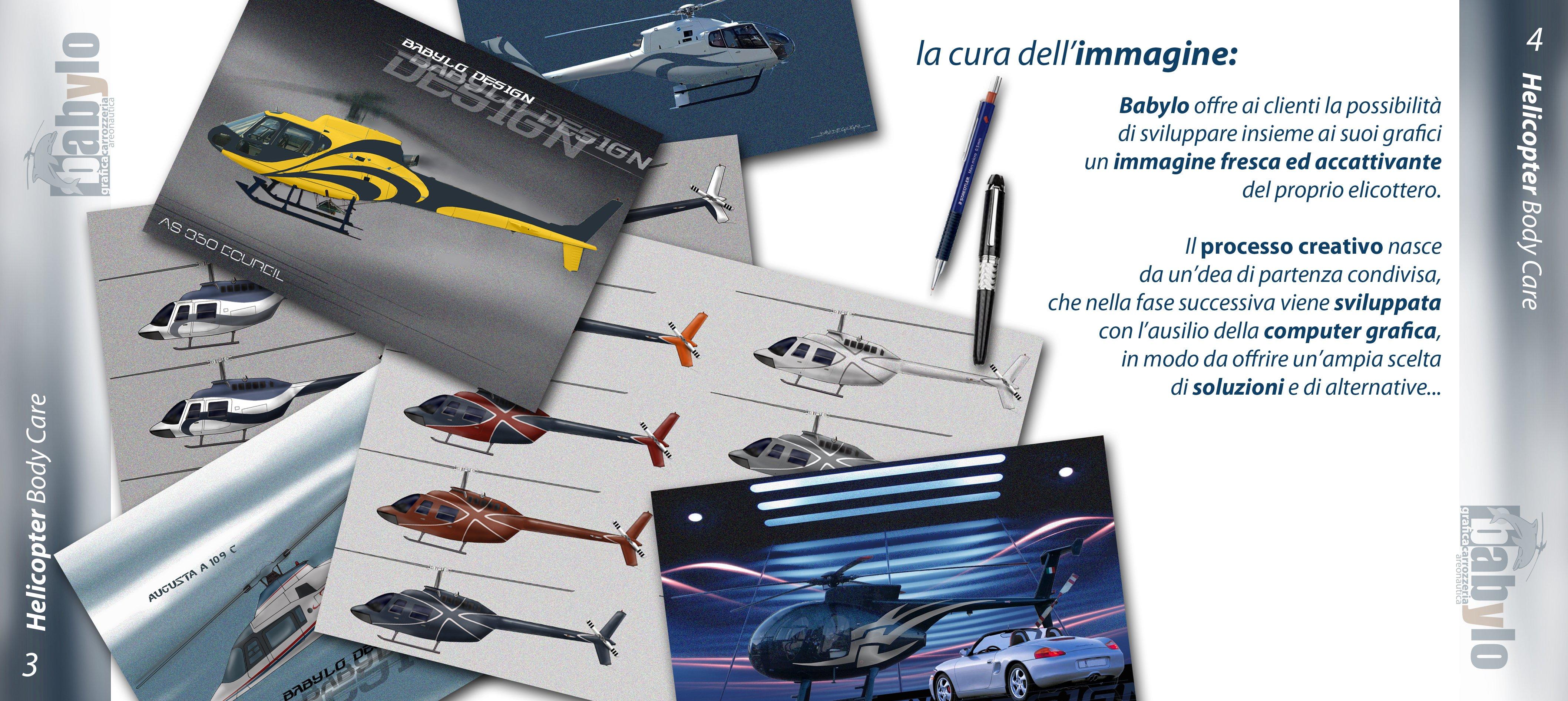 la cura dell'immagine di elicotteri