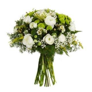 Bouquet-di-ranuncoli-bianchi-e-verde