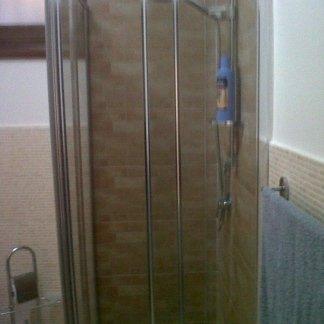 Installazione di doccia