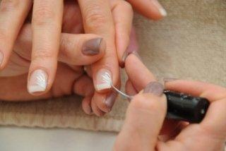 Decorazione unghie.