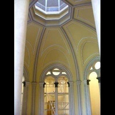 restauro volta chiesa