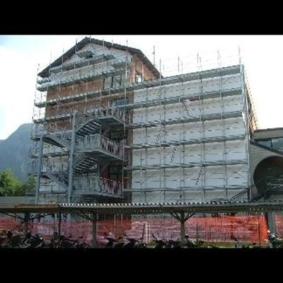 impalcatura restauro esterno