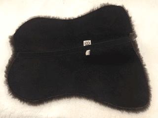 Side Saddle Underlay made in Ivory, Cream or Dark Chocolate Brown