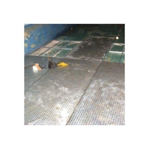 Scivolo in ferro zincato per muletti - lamiere
