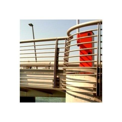 Particolare parapetti ponte