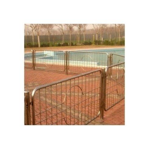 Recinzione di piscina in acciaio inox aisi 316