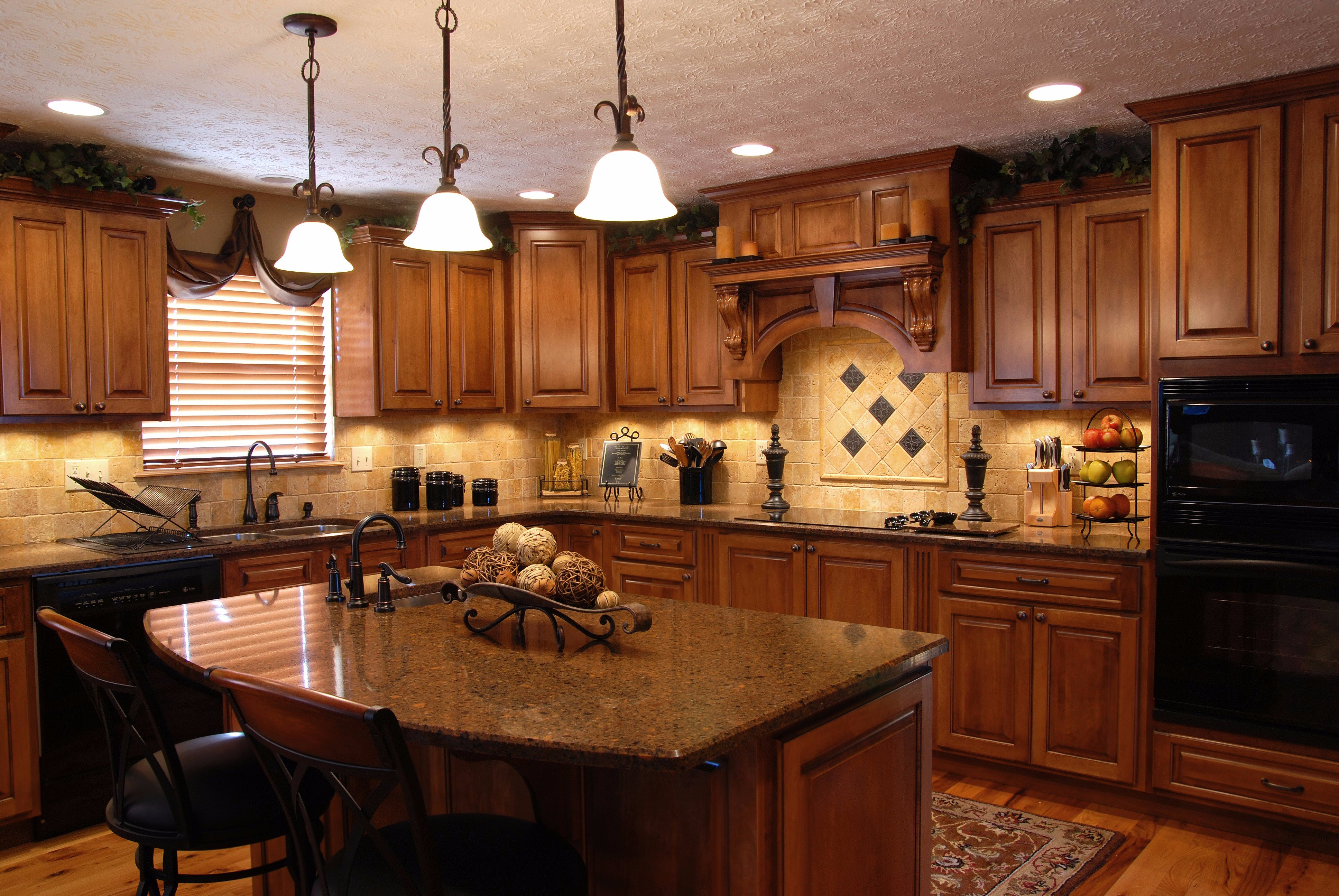 Craftsman Style Custom Kitchen Cabinets