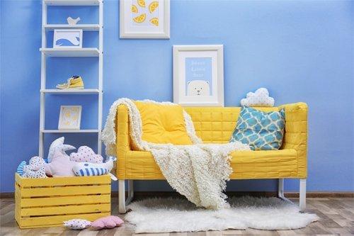 interior view of kids room