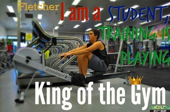 ready twenty four gym man in gym