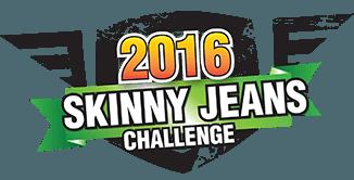 ready twenty four gym skinny jeans challenge logo