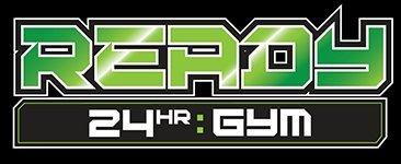 ready twenty four gym business logo