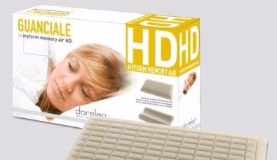 guanciale Myform memory Air e scatola